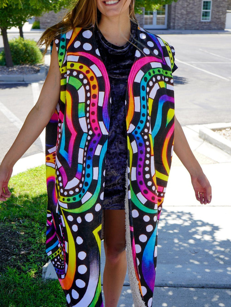 Shroomz Summer Dream Cloak Dream Coat Electro Threads