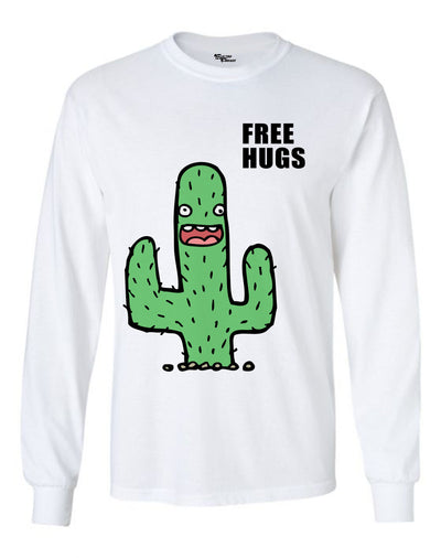 Silly Cactus Unisex Long Sleeve Shirt Long Sleeve Electro Threads