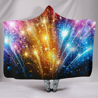 Sky Show Hooded Blanket Hooded Blanket Electro Threads