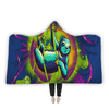 Sloth Life Hooded Blanket Hooded Blanket Electro Threads