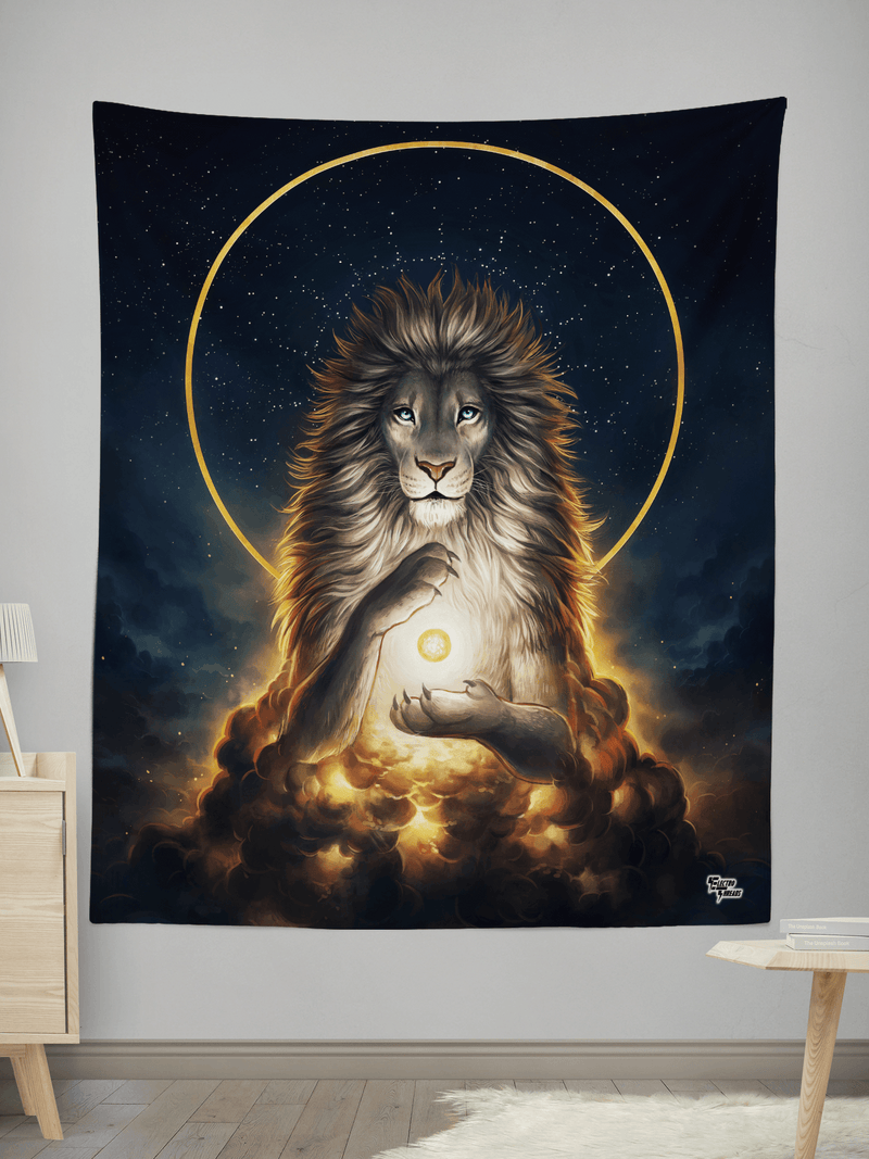 Soul Keeper Wall Tapestry Tapestry Electro Threads