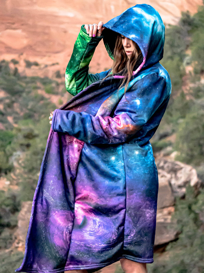 Space Art (Black Sherpa) Dream Cloak Dream Cloak Yantrart