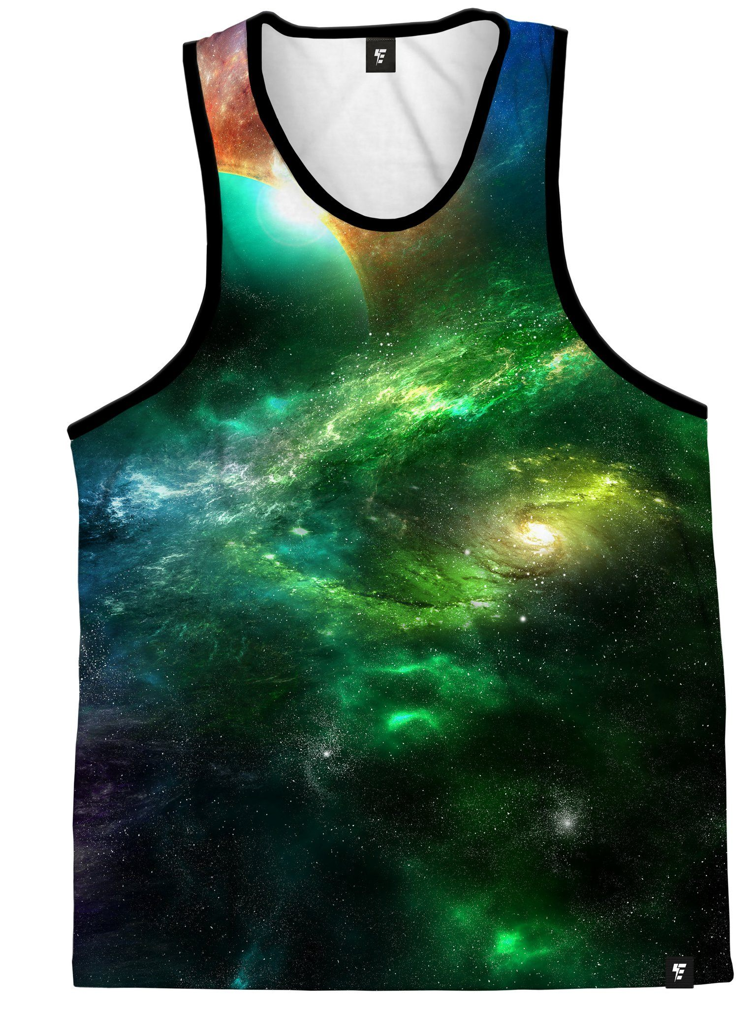 Space Art Unisex Tank Top Tank Tops Electro Threads