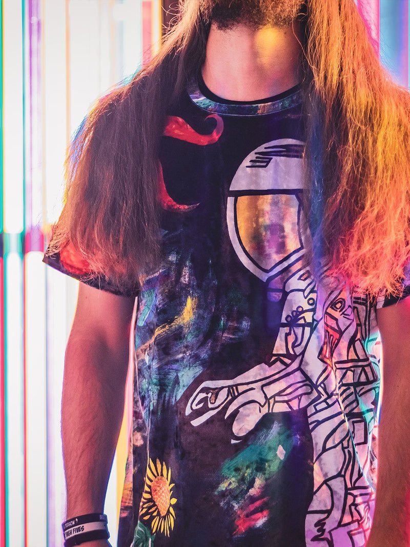 Space Cadet Unisex Crew T-Shirts Electro Threads