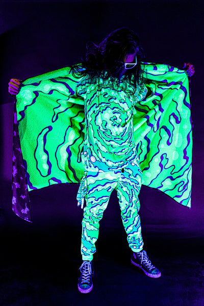 Space Cats Affinity Cloak Dream Coat Electro Threads