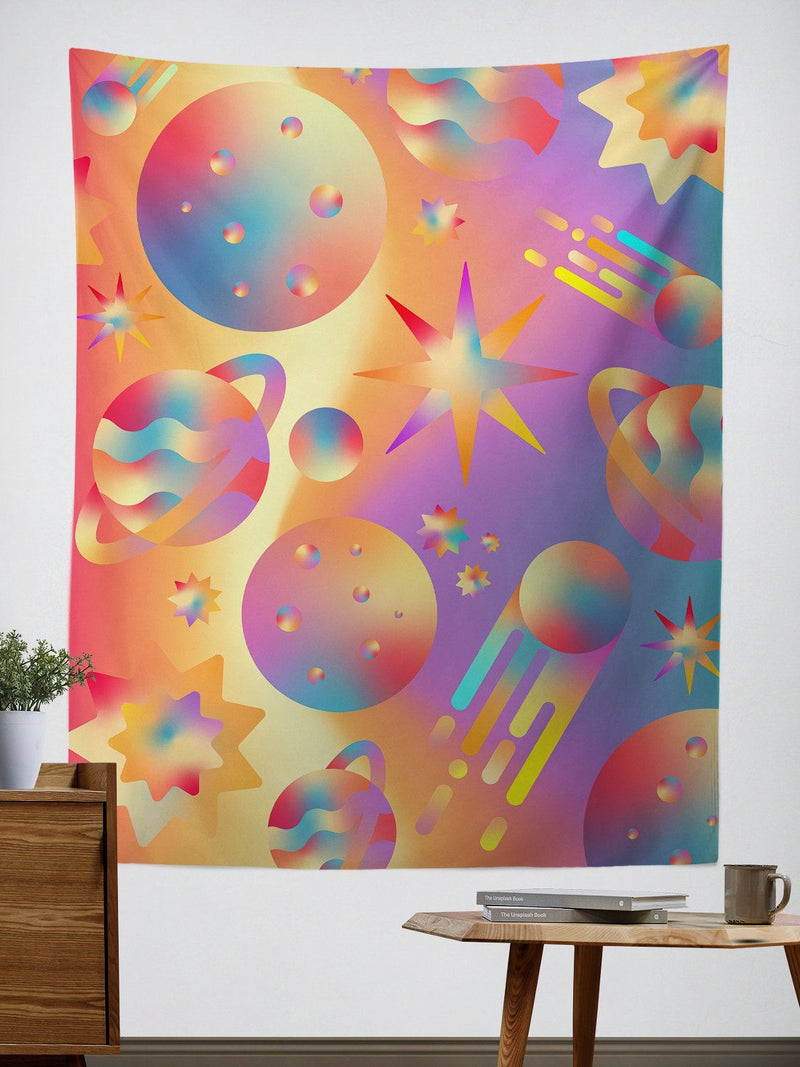 Space Gushers Tapestry Tapestry Electro Threads