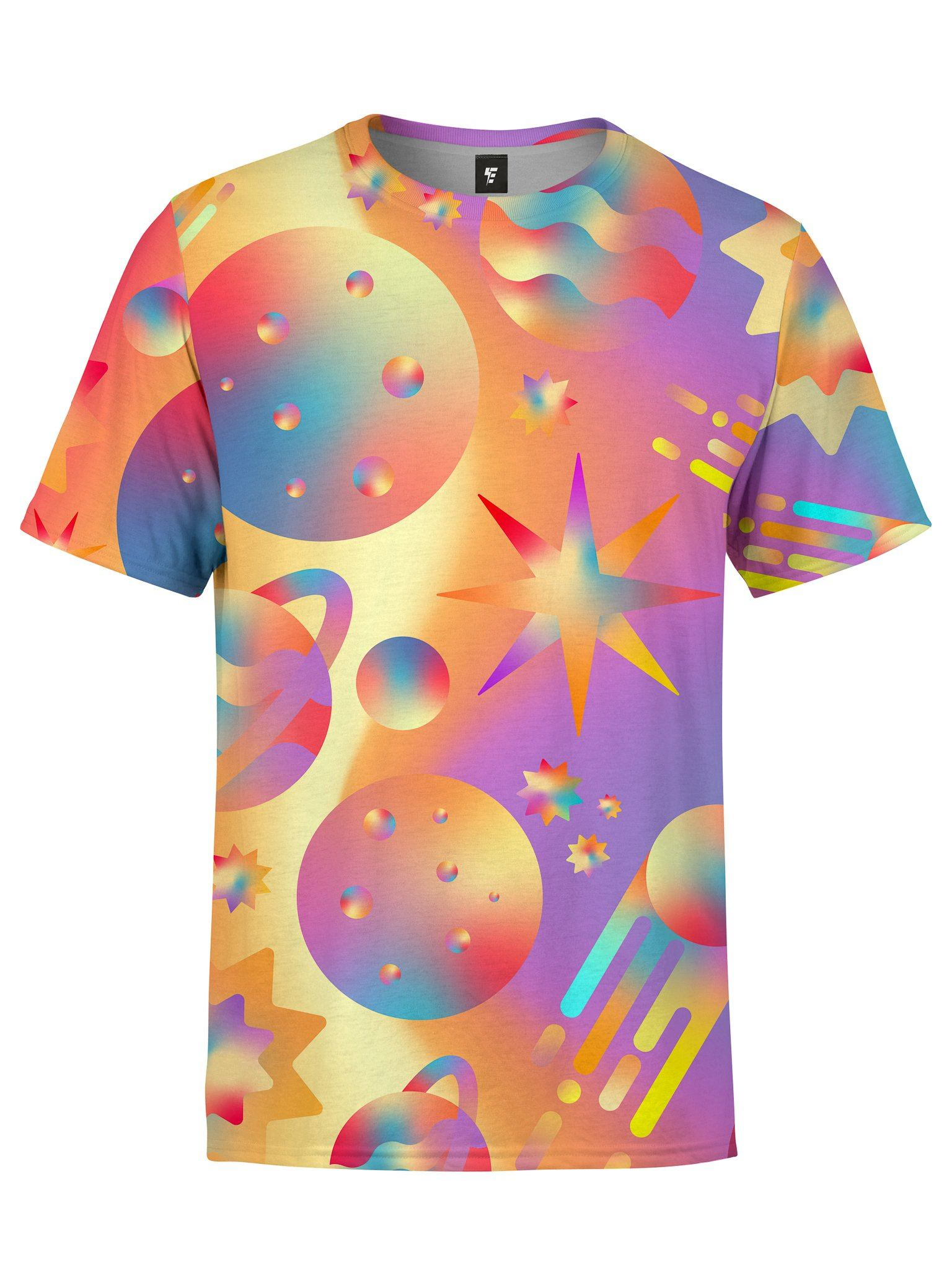 Space Gushers Unisex Crew T-Shirts Electro Threads