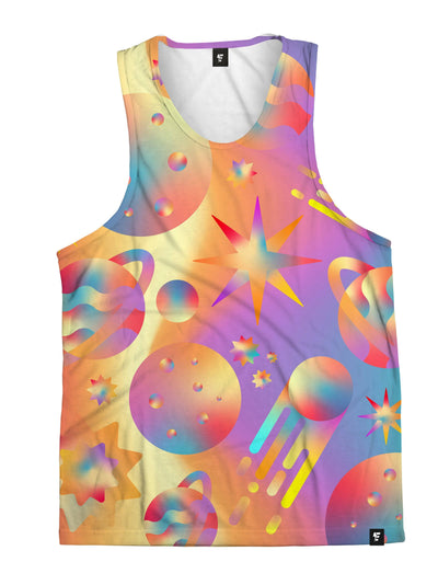 Space Gushers Unisex Tank Top Tank Tops Electro Threads