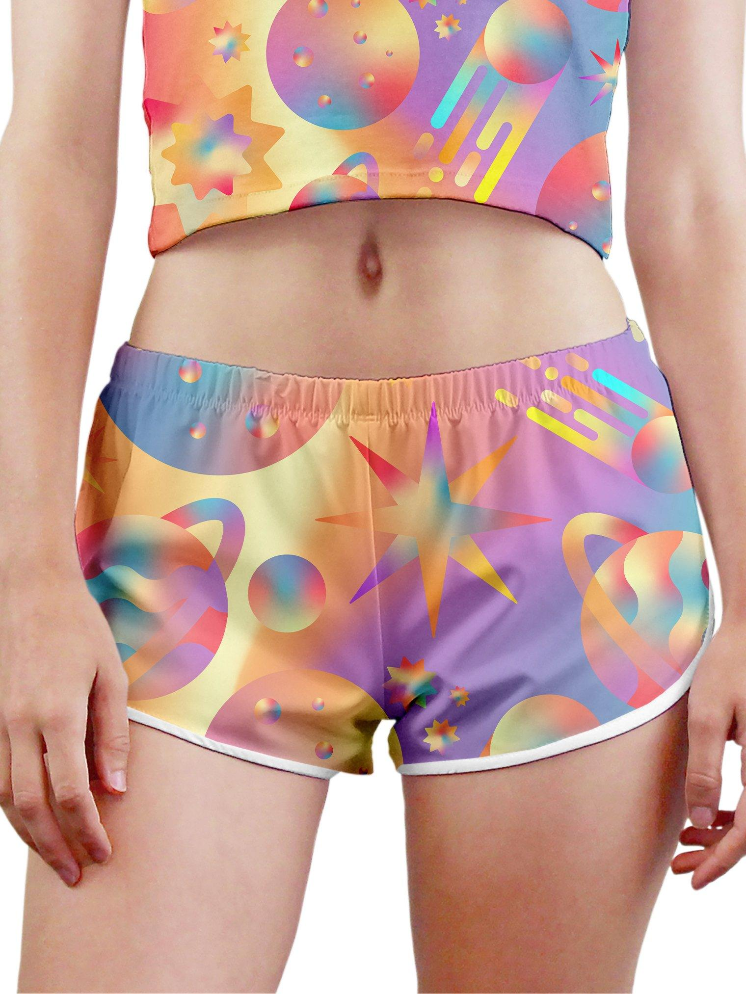 Space Gushers Women's Retro Shorts Women's Shorts Space Queen