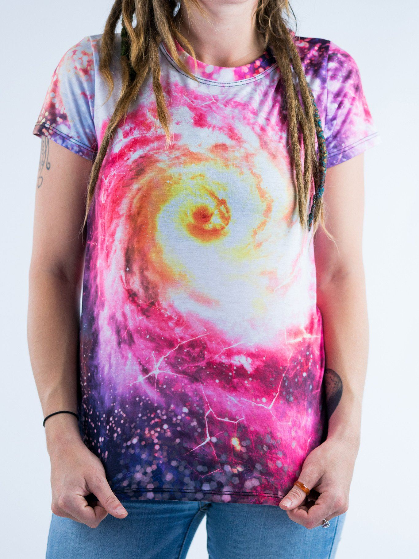 Space Hole Women's Crew T-Shirts T6