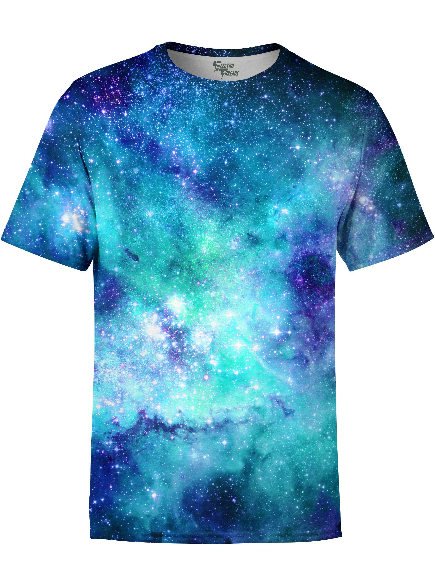 Space Jam Galaxy Unisex Crew T-Shirts T6