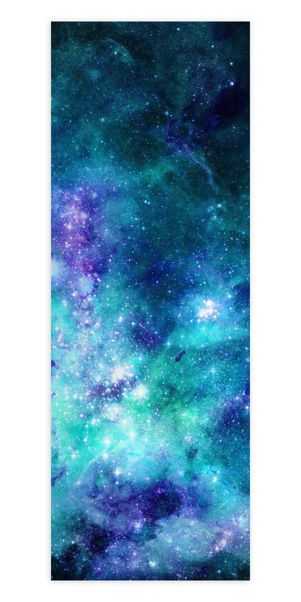 Space Jam Galaxy Yoga Mat Yoga Mat Electro Threads