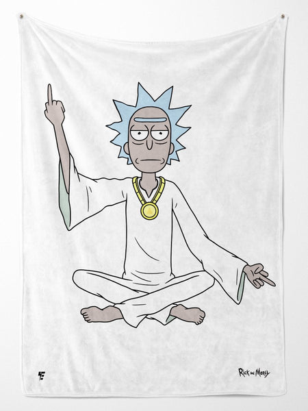 Rick and Morty | Spiritual Rick Blanket