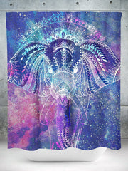 Strong Compassion Shower Curtain Shower Curtains Electro Threads