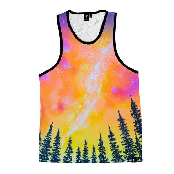 Sunburst Pines Unisex Tank Top Tank Tops T6