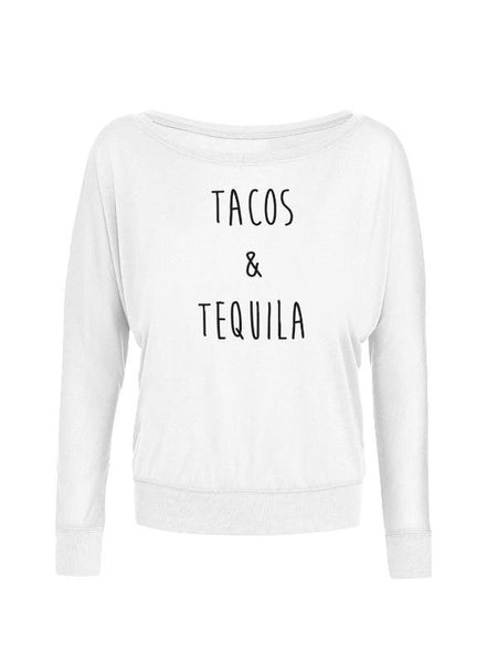 Tacos and Tequila Off Shoulder Off Shoulder Electro Threads