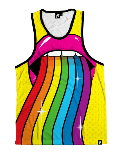 Taste the Rainbow Unisex Tank Top Tank Tops T6 X-Small Yellow