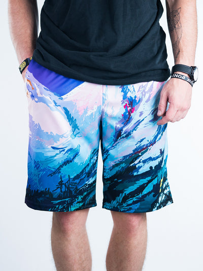 The Mountains Shorts Mens Shorts T6