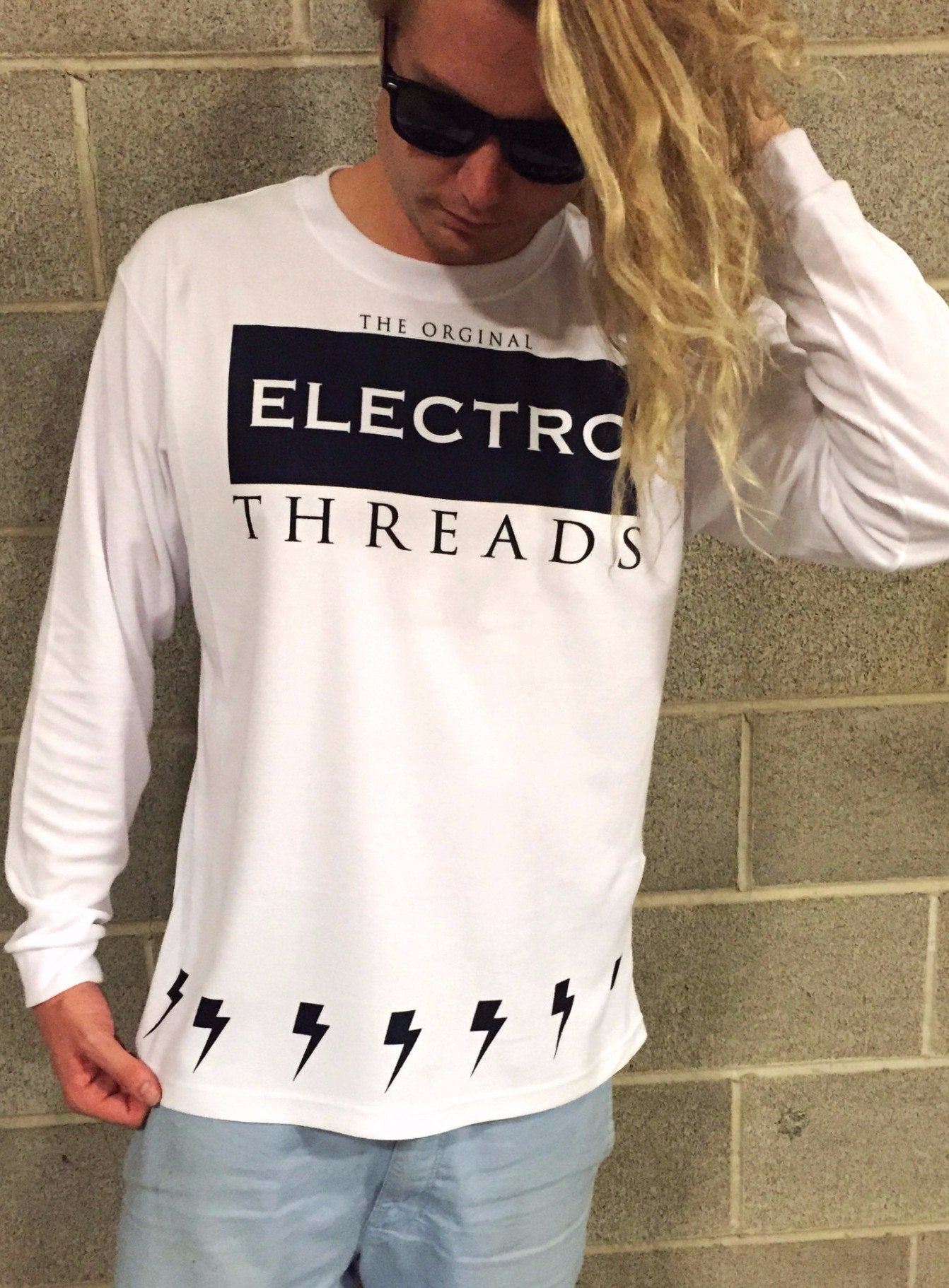 The Original Electro Mens Long Sleeve Long Sleeve Electro Threads