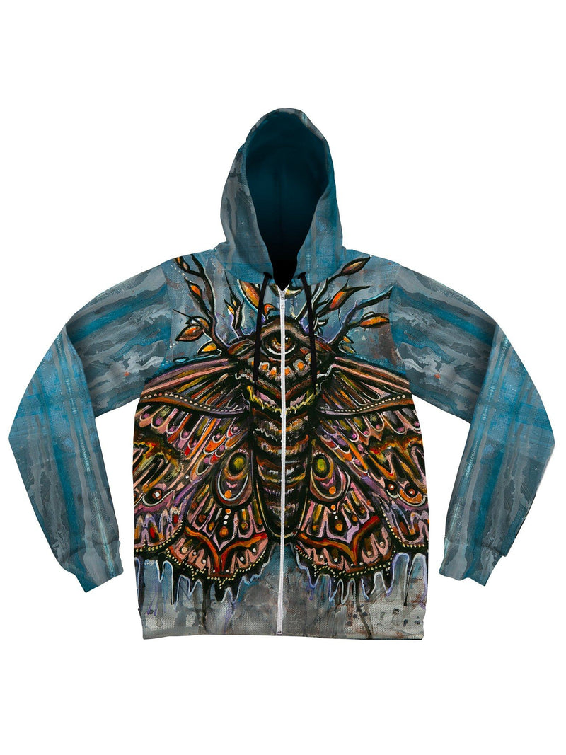 Third Eye Moth Unisex Hoodie Pullover Hoodies Electro Threads
