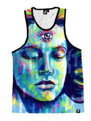 Third Eye Unisex Tank Top Tank Tops T6 X-Small