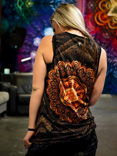 Tibetan Mantra Tank Top Tank Tops Electro Threads