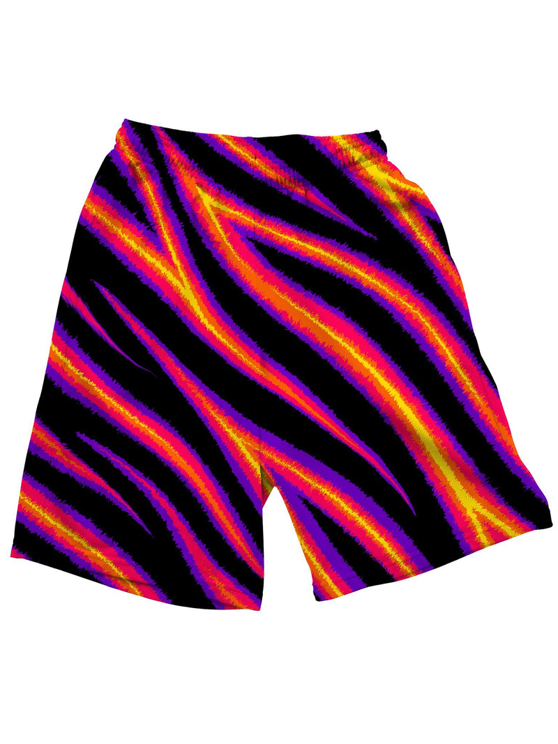 Tiger Stripes Shorts Mens Shorts Electro Threads