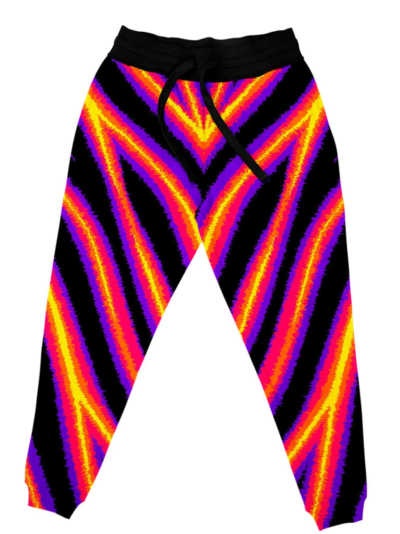 Tiger Stripes (Warm) Unisex Joggers Jogger Pant Electro Threads