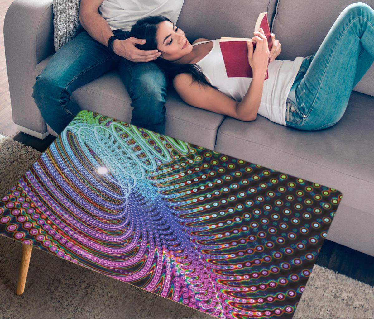 Torus Blast Coffee Table Coffee Table Electro Threads