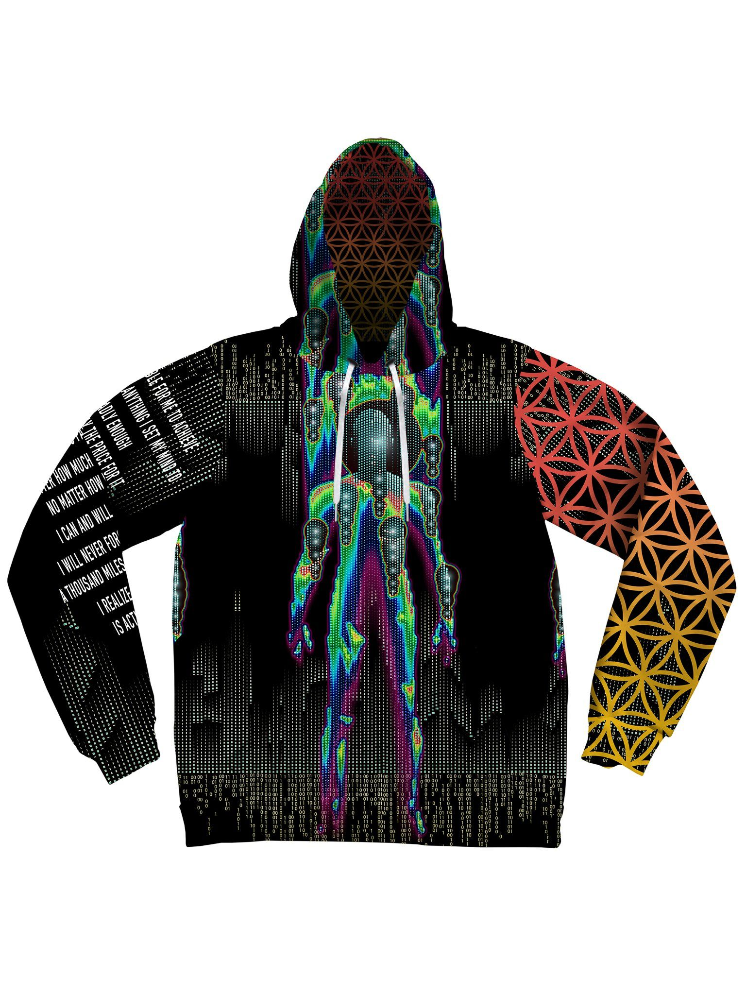 Transforming Unisex Hoodie Pullover Hoodies Electro Threads