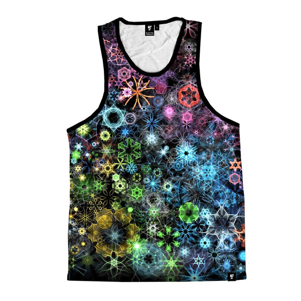 Trippy Constellation Unisex Tank Top Tank Tops T6