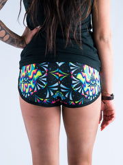 Trippy Hamsa Women's Retro Shorts Women's Shorts T6