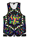 Trippy Lotus Unisex Tank Top Tank Tops T6
