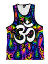 Trippy OM Unisex Tank Top Tank Tops T6