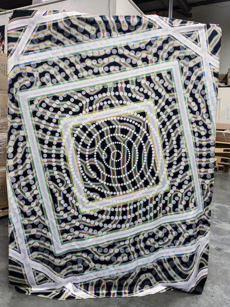 Tryp Blanket Blanket Electro Threads