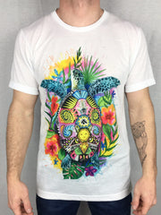 Turtle of Life Unisex Crew T-Shirts Electro Threads X-Small