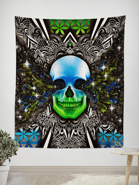 "Twilight Zone Tapestry Tapestry Electro Threads SMALL: 32"" x 42"""