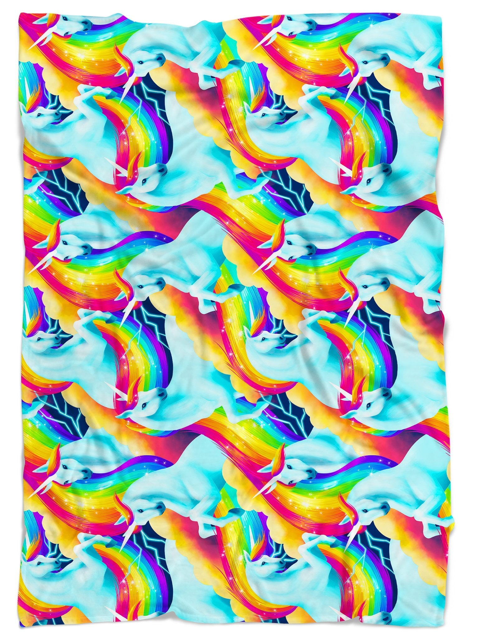 Unicorn Sherbet Blanket Blanket Electro Threads