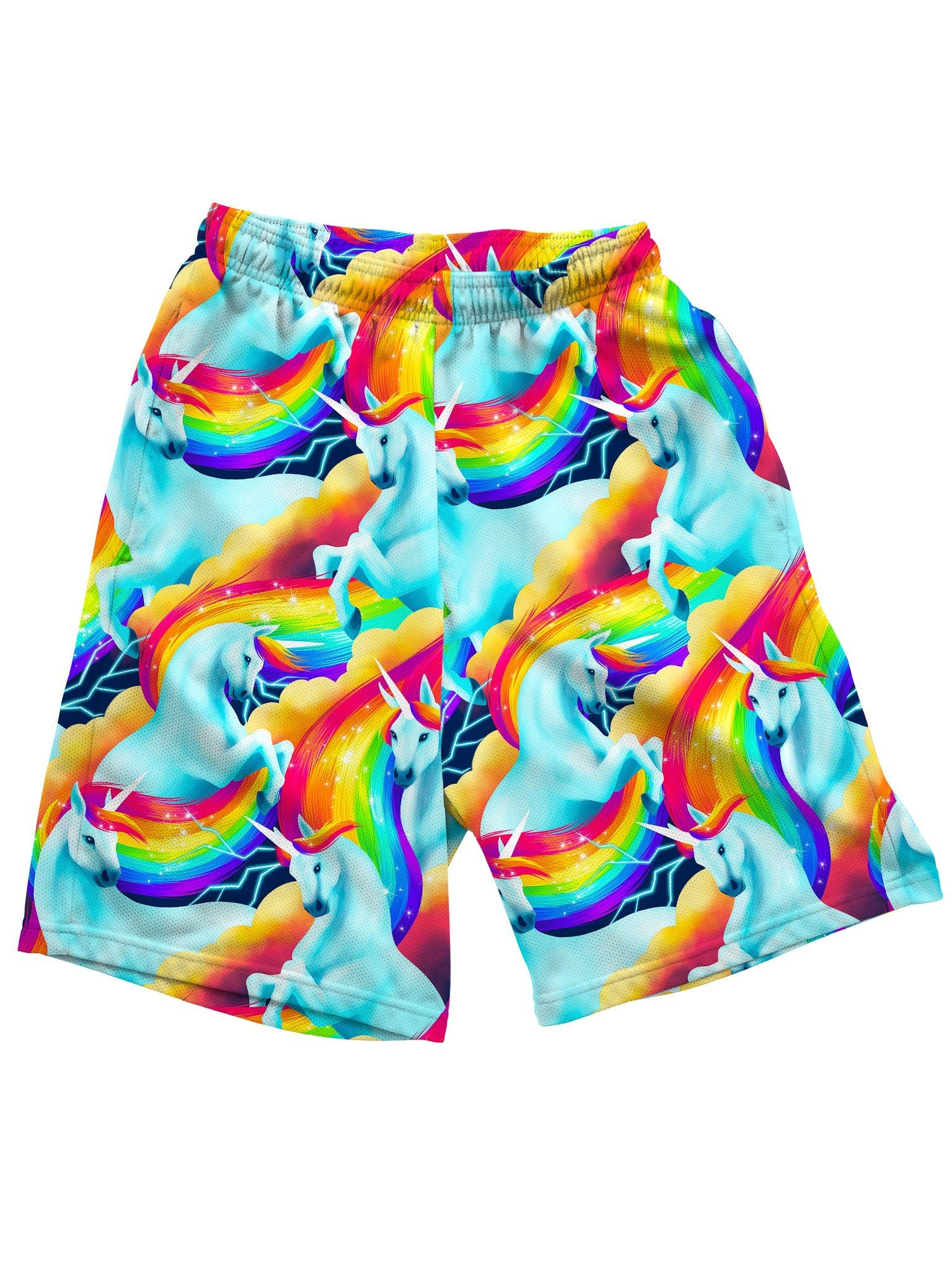 Unicorn Sherbet Shorts Mens Shorts Electro Threads