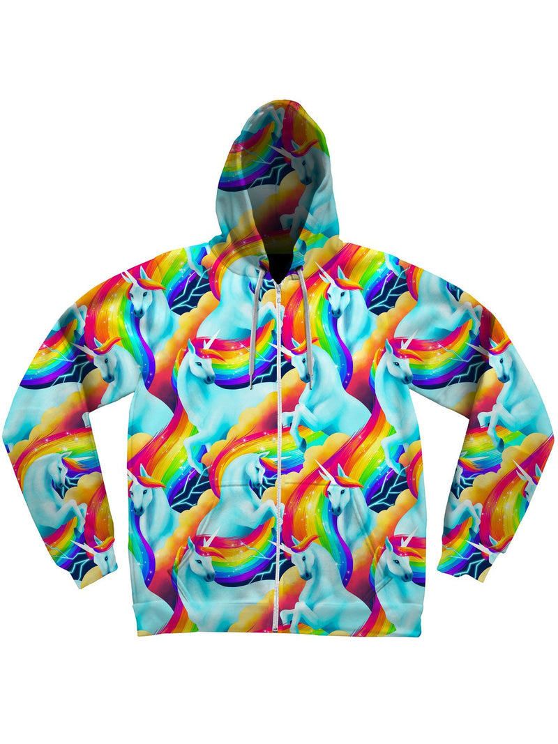 Unicorn Sherbet Unisex Hoodie Pullover Hoodies Electro Threads