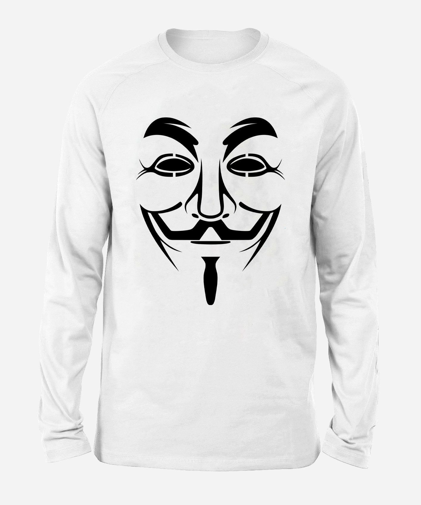 Vendetta Unisex Long Sleeve Shirt Long Sleeve Electro Threads