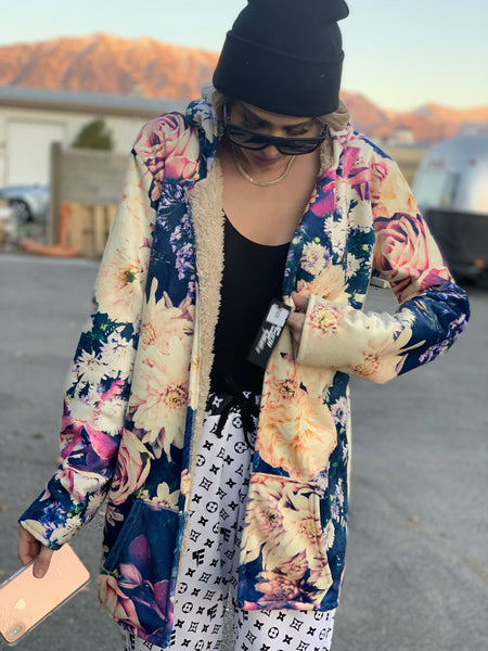 Vintage Flowers DreamCoat Dream Coat Electro Threads