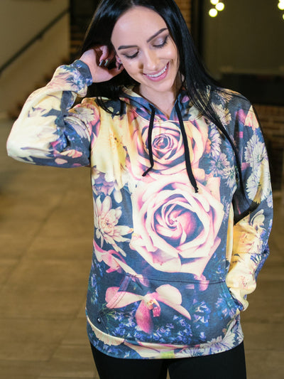 Vintage Flowers Magic-Soft Unisex Hoodie Pullover Hoodies T6