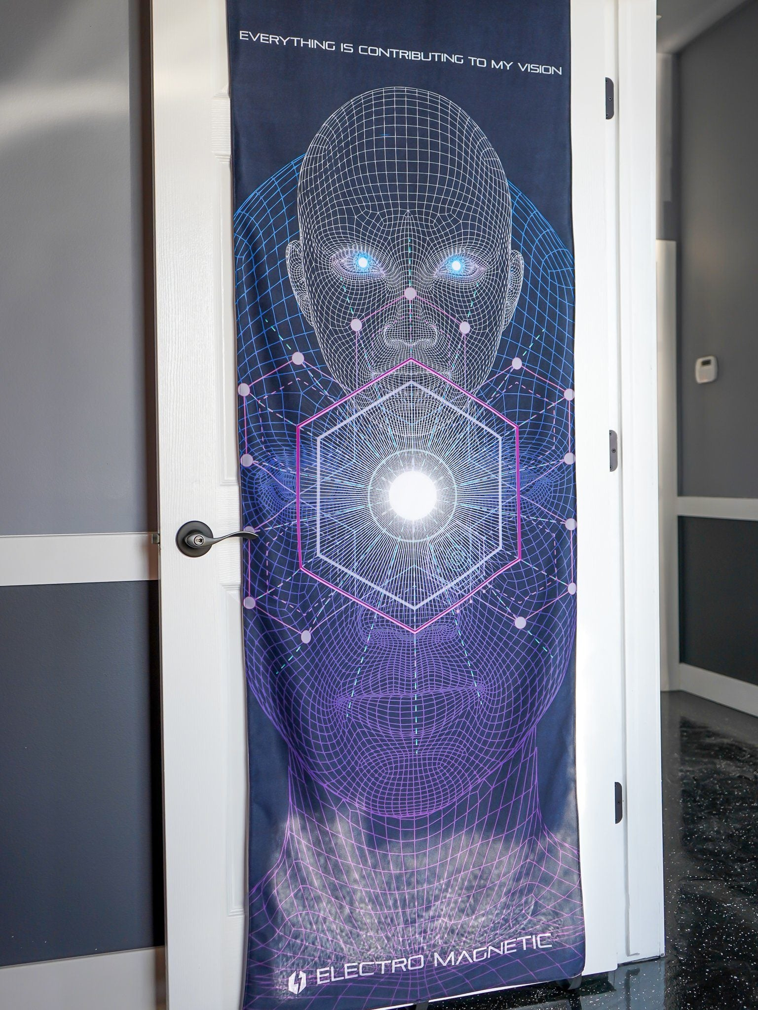 Vision Door Wrap Door Cover Electro Threads