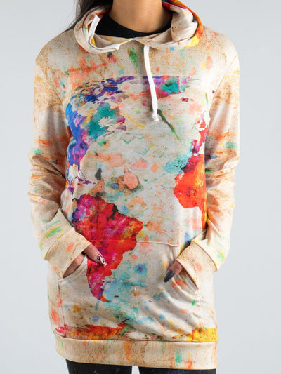 Wanderlust Hooded Dress Hoodie Dress T6