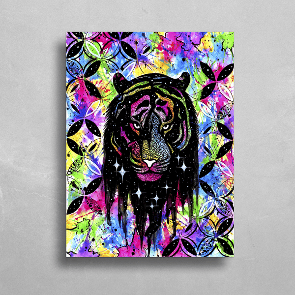 Wild and Free HD Metal Panel Print Ready to Hang HD Metal Print Electro Threads