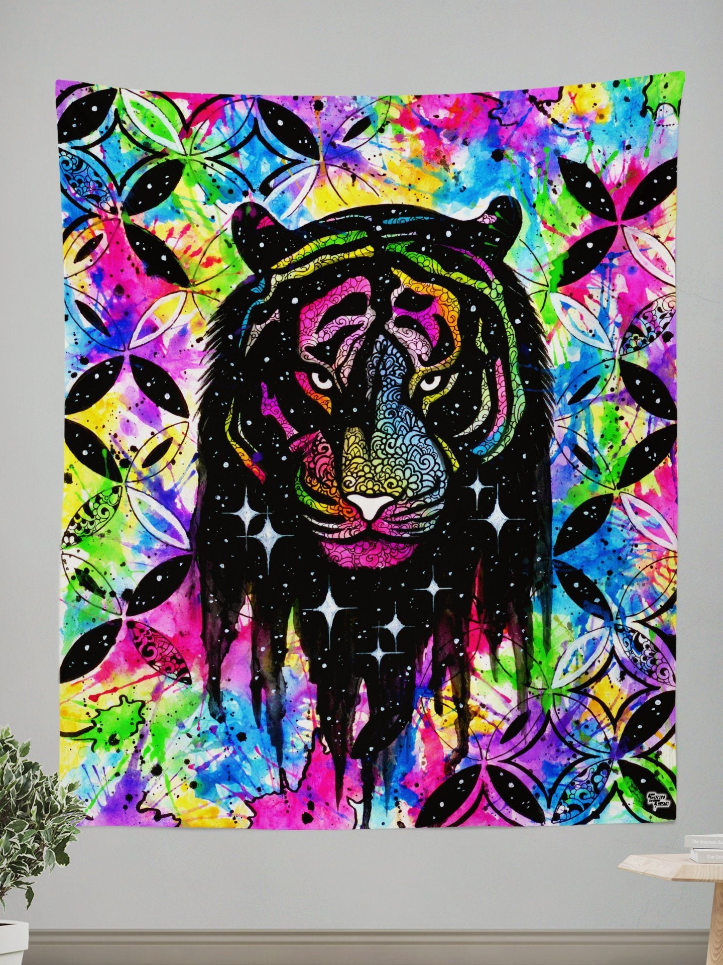 WILD & Free Tapestry Tapestry Electro Threads