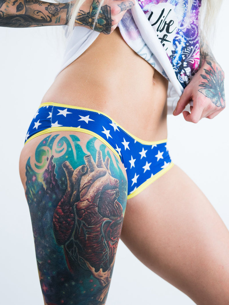Wonder Woman Cheeky Undies Undies T6