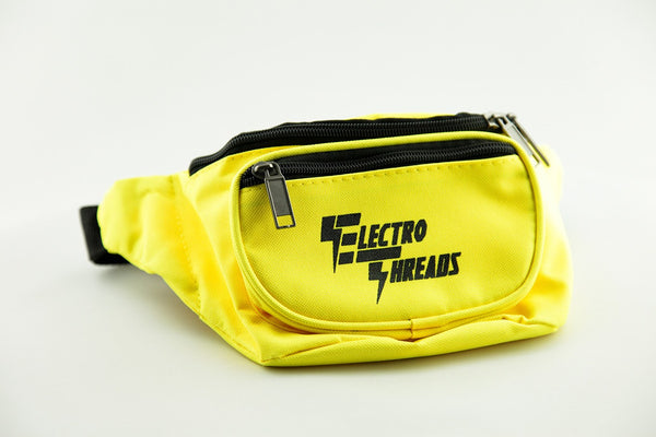 Yellow Electro Threads Fanny Pack (RTS) Fanny Pack Electro Threads