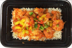 Spicy Coconut Shrimp Lunch Combo